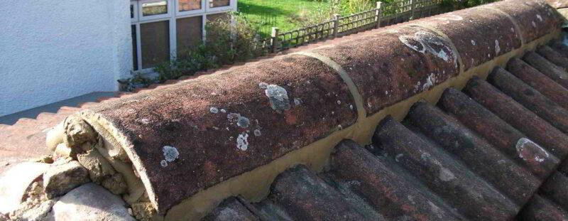 Ridge Tile Repairs in Dublin